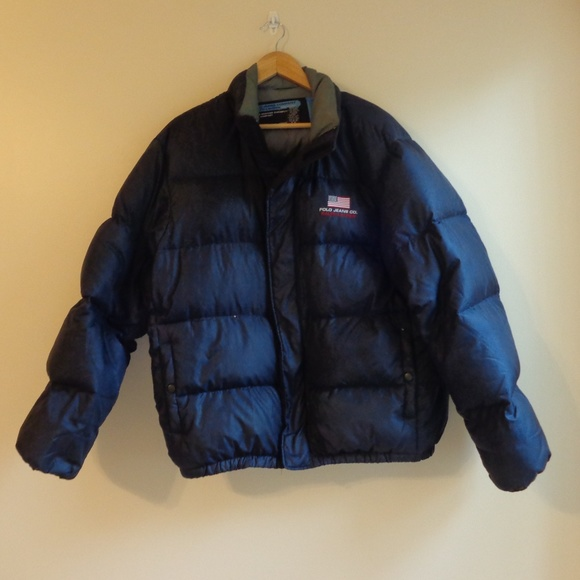 ec9b734a Polo Jeans Co. Men's Down Quilted Puffer Parka